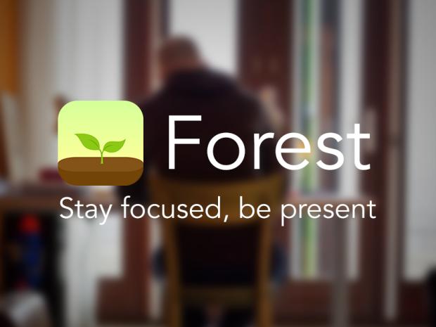Focus met de Forest app