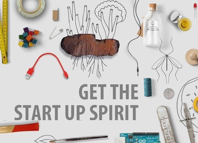 Get the start up spirit (in een grote organisatie)