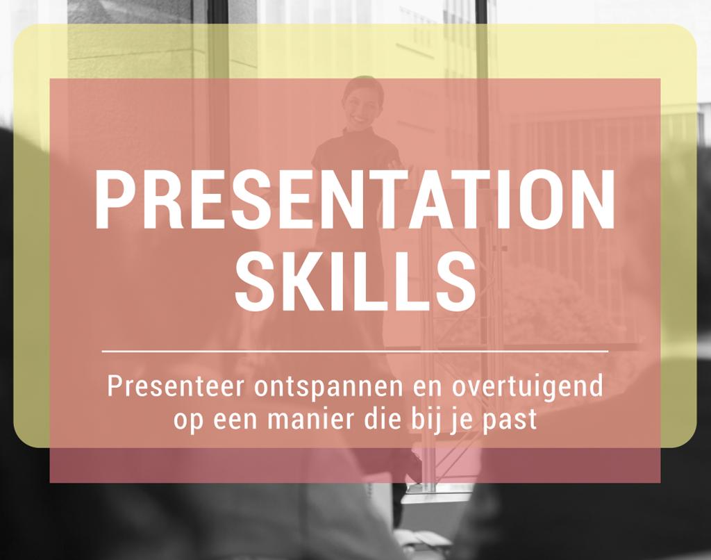Jobtraining InCompany PresentationSkills