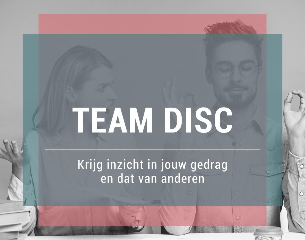 Jobtraining InCompany TeamDISC